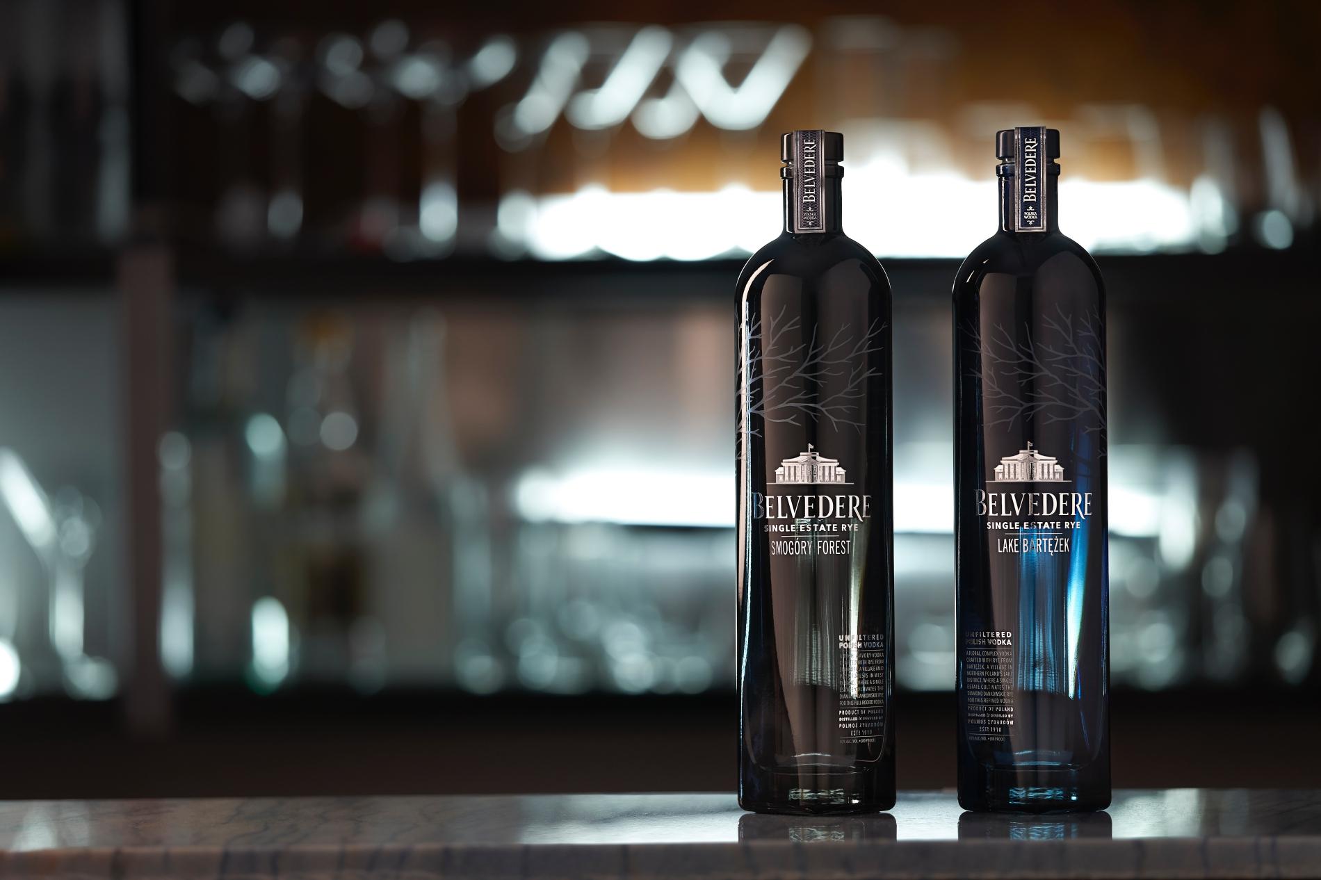 Belvedere Single Estate Rye Vodkas